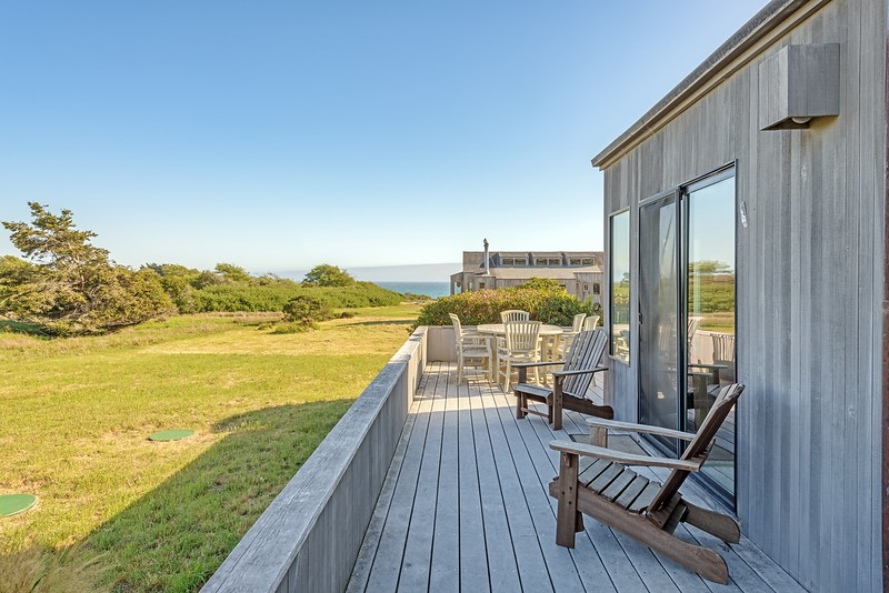 Back  Deck with Ocean View