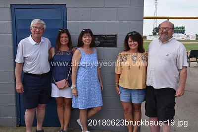 20180623 Fred Bruckbauer Dedication