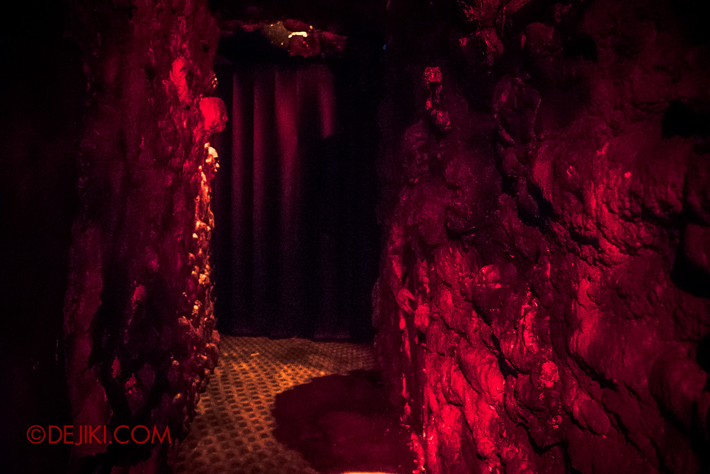 Halloween Horror Nights 6 - Bodies of Work / Cavern of Horrors escape
