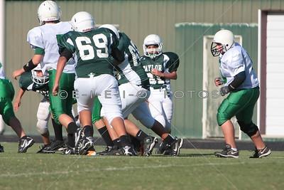 2011.10.20 A 8th Grade Taylor vs Burnet