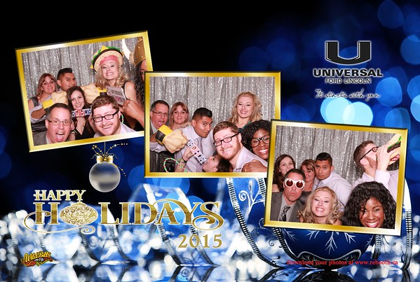 Universal Ford Lincoln Christmas Party 2015