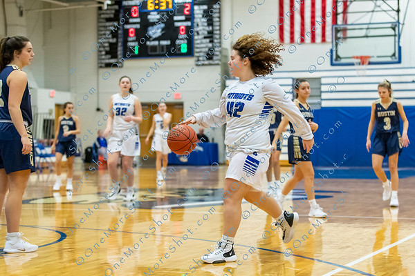 GVHS Girls BASKETBALL vs WC Rustin 01/30/2020