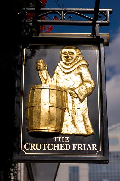Pub sign, London, United Kingdom
