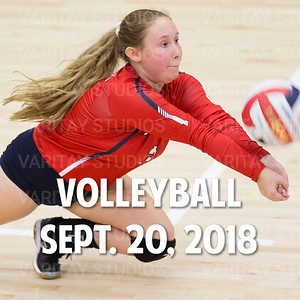 Prairie Volleyball 9-20-2018
