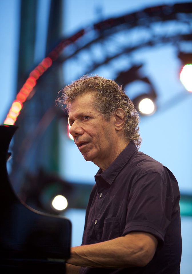 Herbie Hancock and Chick Corea at Jazz à Juan 2015 4