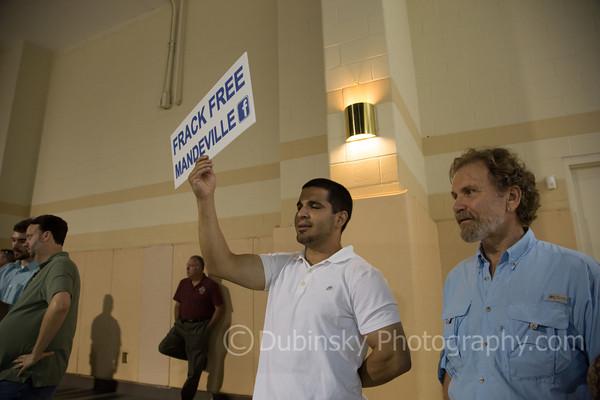Fracking Meeting - St. Tammany - Mandeville LA