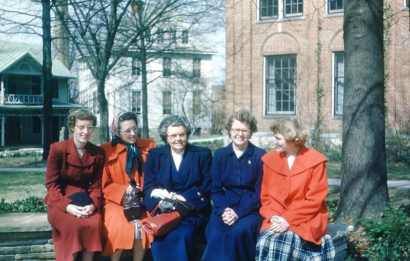 1951 Visiting Beverly at Berea, KY