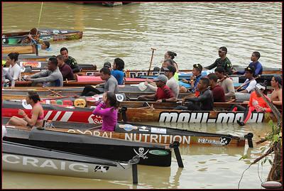 Panama 2015 Cayuco Race Gamboa Lake Finish