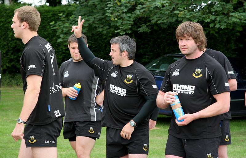 Northampton Saints Pre-Season Training, Pitsford Reservoir, 13 June 2008