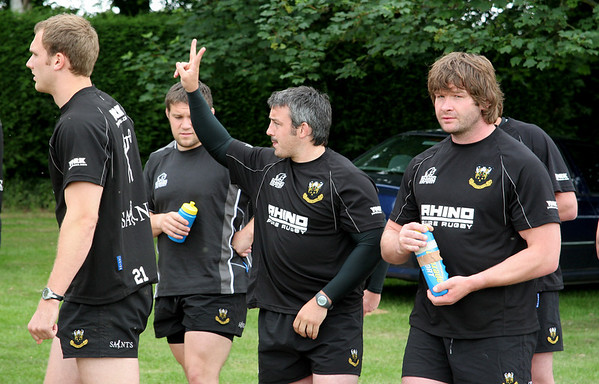 Northampton Saints Pre-Season Training, Pitsford Reservoir, 13 June 2008