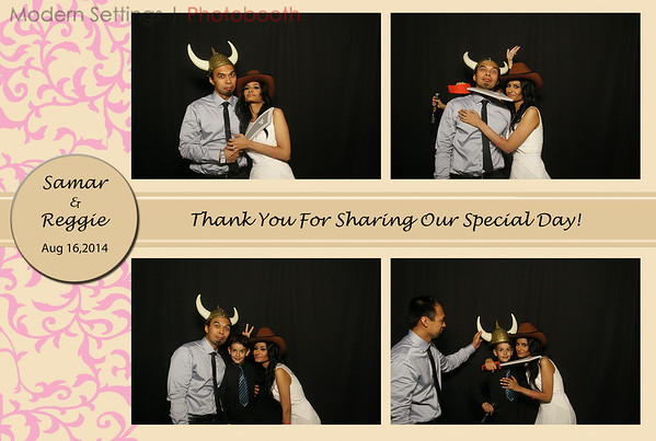 Samar & Reggie's Wedding: August 16, 2014