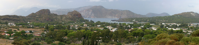 Vulcano and Lipari islands