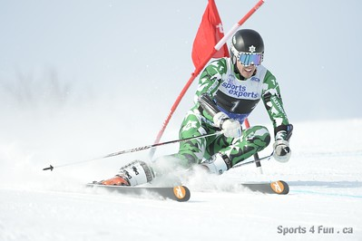 Giant Slalom, Men CAN - QC - MONT-SAINTE-ANNE 1/26/2013