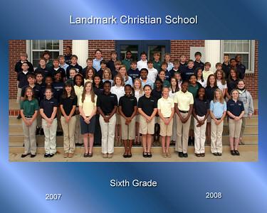 07-08 Middle School Class Photos