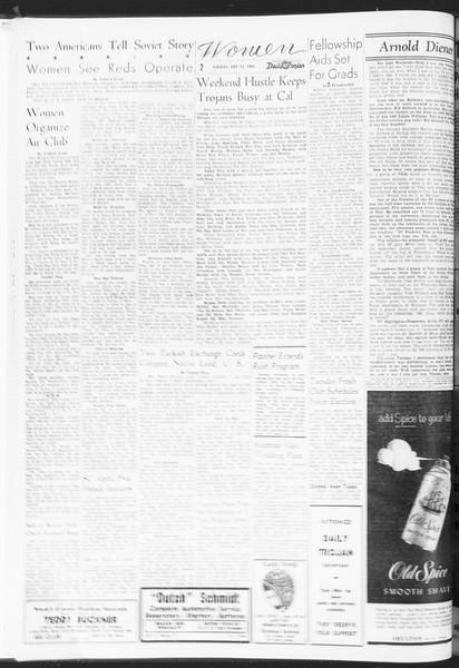 Daily Trojan, Vol. 47, No. 28, October 25, 1955