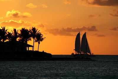 Sunset Celebration (Key West) / June 4, 2008