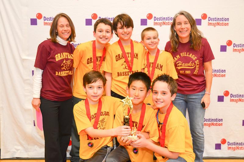 2nd place, Pandemonium, Grantham Village School, Grantham, #130-29490