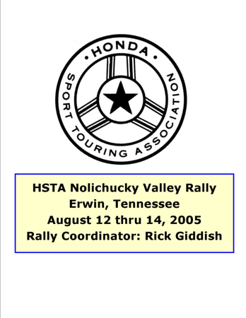 2005 Nolichucky Valley Rally