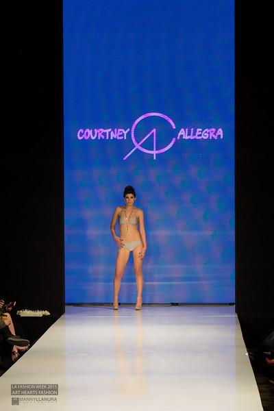 Courtney Allegra LA Fashion Week 2015 Art Hearts Fashion