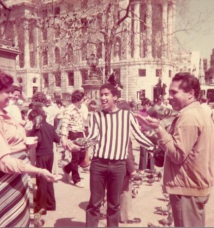 Morando em Londres (1979-1980)
