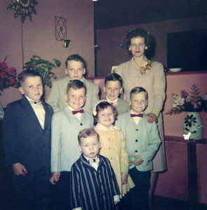 Morgan Family Album 1950's donated by Tom Morgan Jr.
