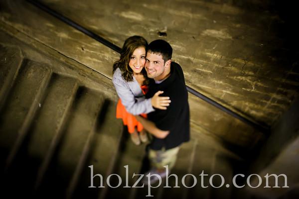 Kimberly & AJ Color Engagement Photos