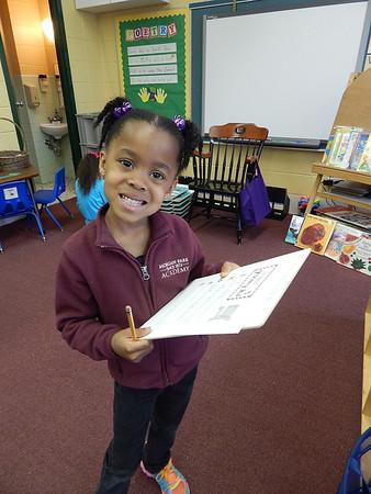 Kindergarten - Beginning of May
