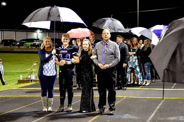Crowning Athens Fall Homecoming King & Queen 9-28-2018