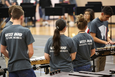 Weiss HS Band Camp 5-3-18