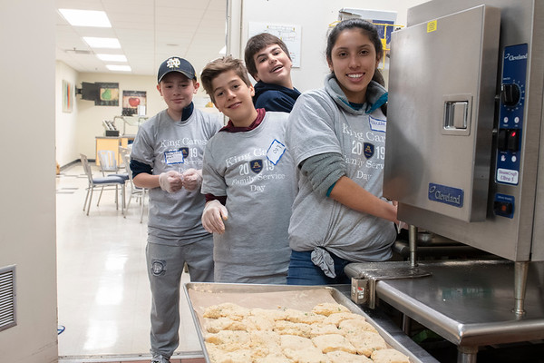 King Cares Family Service Day, April 2019