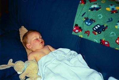 Zach -- 9 months -- June 2002