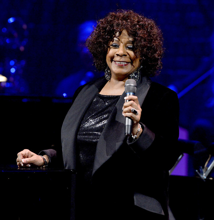 . Singer Merry Clayton performs onstage during a celebration of Carole King and her music to benefit Paul Newman\'s The Painted Turtle Camp at the Dolby Theatre on December 4, 2012 in Hollywood, California.  (Photo by Michael Buckner/Getty Images for The Painted Turtle Camp)