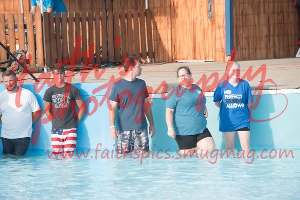Baptisms at Splash Kingdom 080517