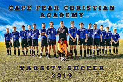 2019-2020 Varsity Boys Soccer