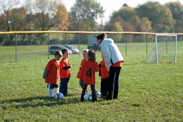 Evans Soccer Game