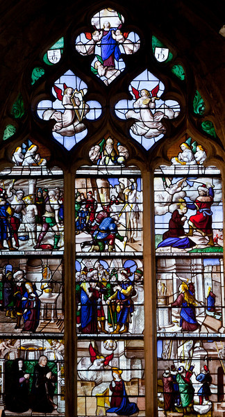 Semur-en-Auxois Collegiale, The Life of Saint Barbara