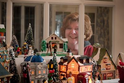 Sherry Christmas Village