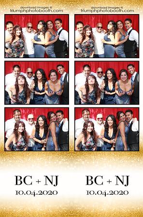 10/4/20 - BC & NJ Wedding