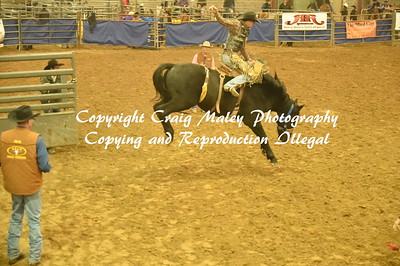 SADDLE BRONC 1ST GO 11-25-2016