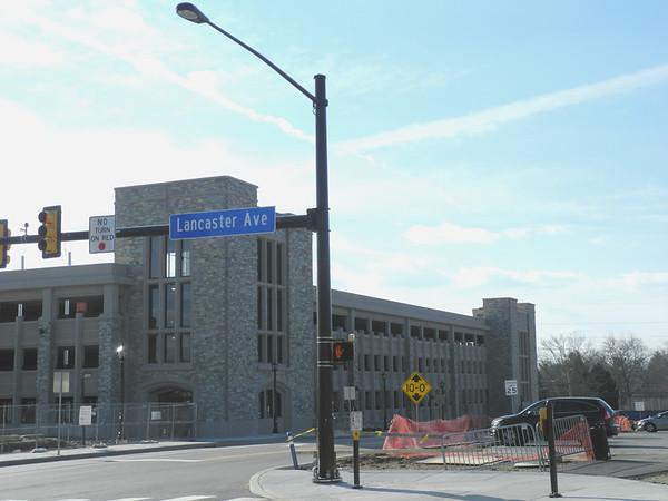 Villanova Lancaster Ave Project and Moriarity Hall 1-2-17
