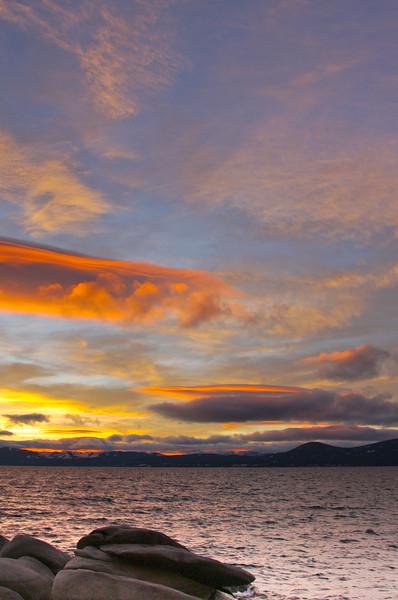 Lake Tahoe, CA, Jan 2009