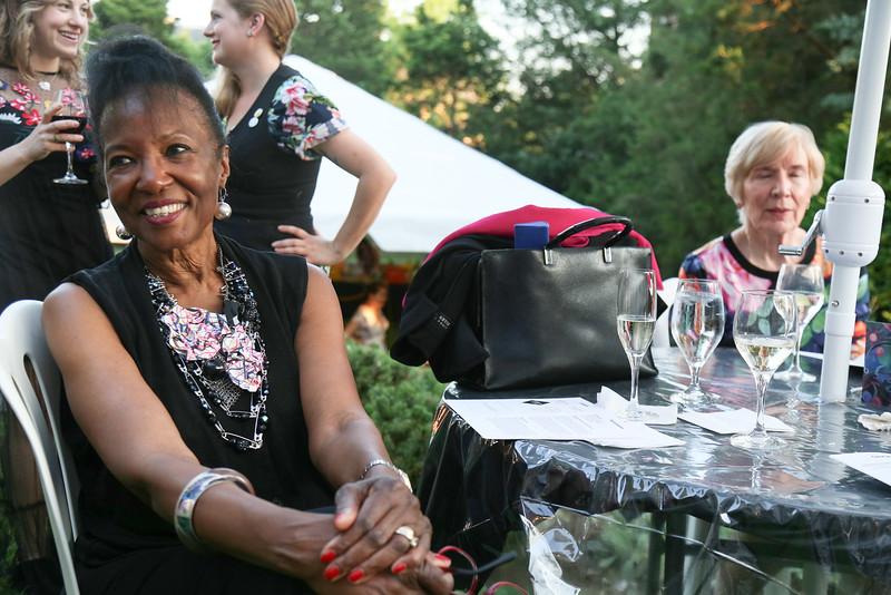 Juanita Hardy, DC Art Center, Cuisine des Artistes, the Woodrow Wilson House, May 24, 2018