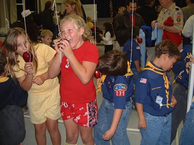 Cub Scout Turkey Bowling