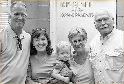 Iris and Her Grandparents