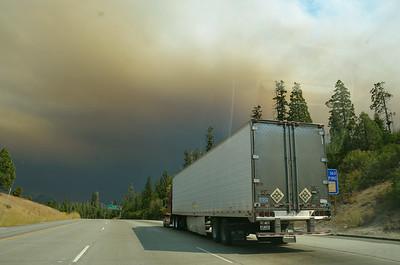 Reno Trip during fires