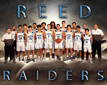REED Boys Basketball Portraits