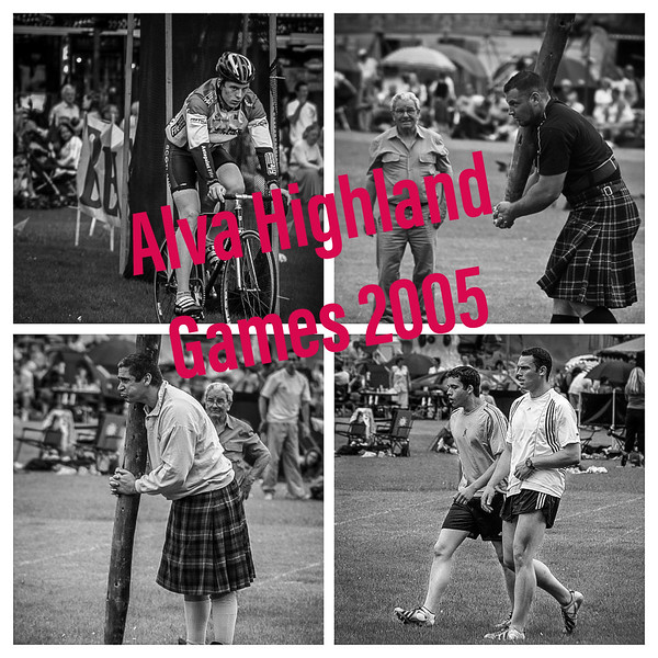 Alva Highland Games 2005