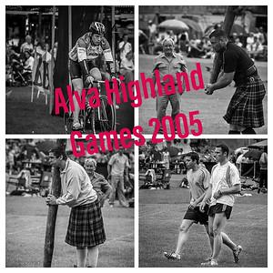 Alva Highland Games 2005