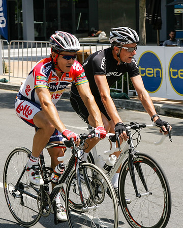2006 South Bank Grand Prix Cycling Criterium, Brisbane, Queensland, Australia; 3 December. Second gallery of extra photos by Des Thureson.
