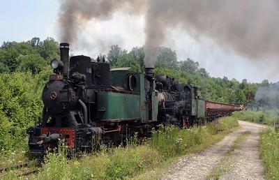 Bosnia: Banovici coalfield railway, 2014 3